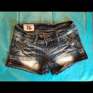 1st Kiss Denim Shorts Sz 3
